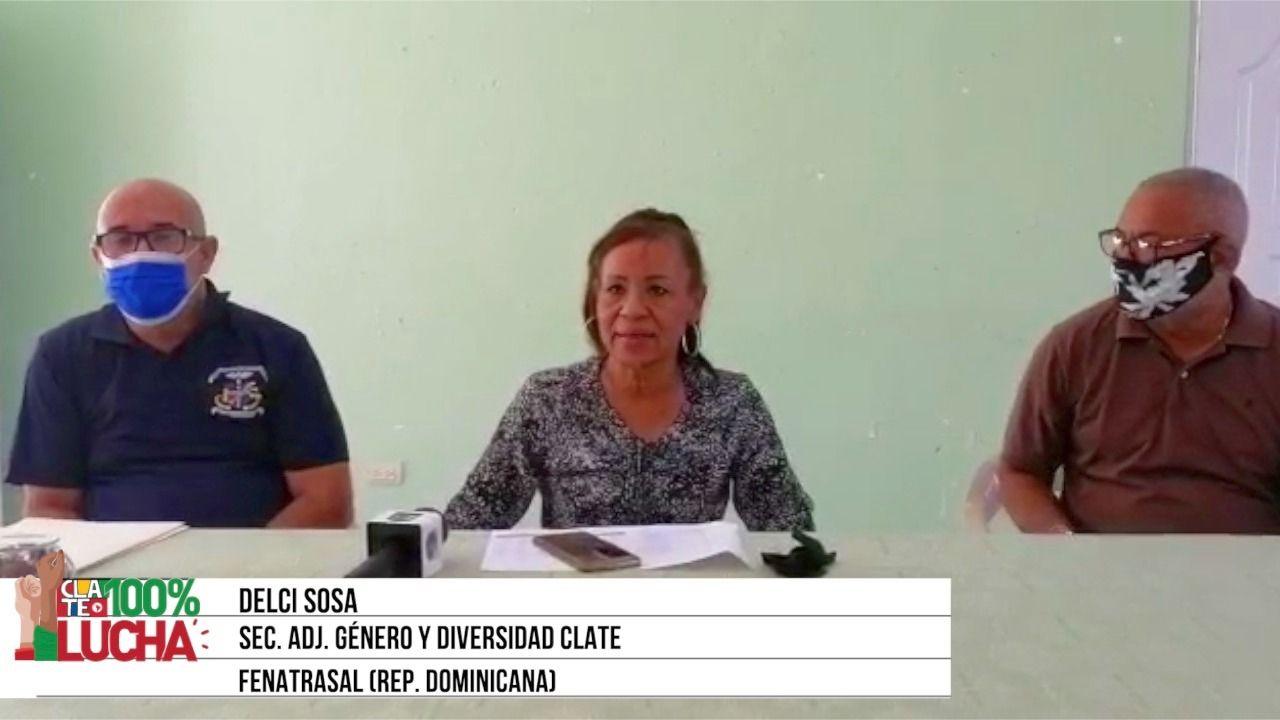 Delci Sosa: «Exigimos que cesen los desp»