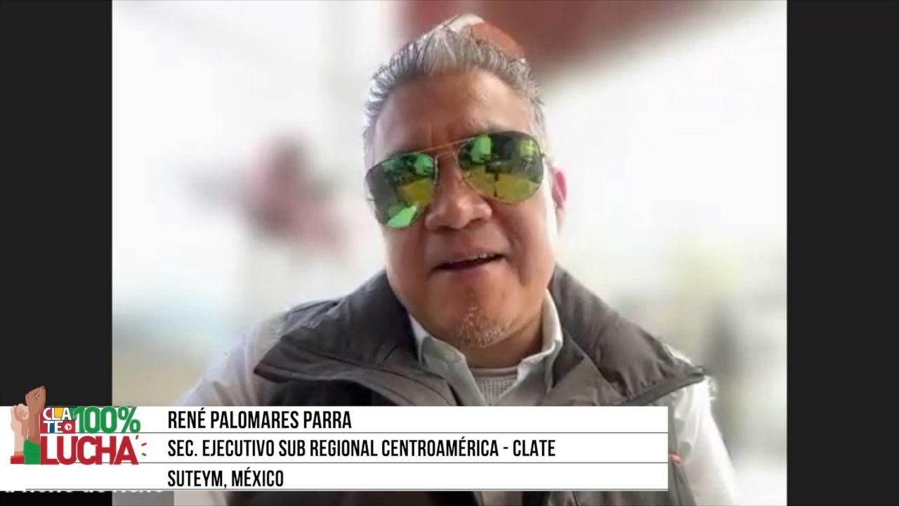 """René Palomares Parra: """"Debemos mantener la planta laboral"""""""